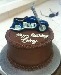 This was the cake I got for him last year